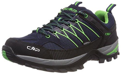 CMP – F.lli Campagnolo Herren Rigel Low Shoe Wp Trekking- & Wanderhalbschuhe, Blau (B.Blue-Gecko), 44 EU