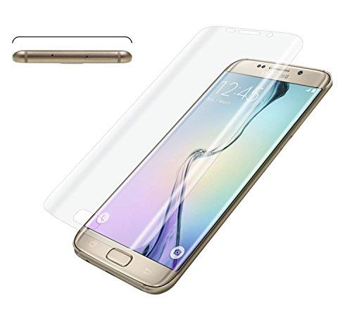 yayago Displayschutzfolie gebogen für Samsung Galaxy S6 Edge Schutz Folie Full curved