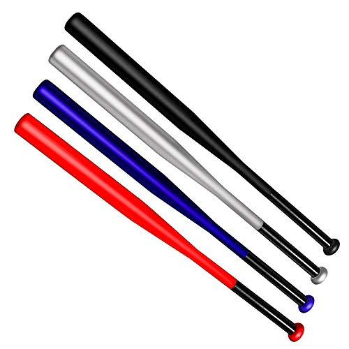 Tuggui 28 Zoll Baseball Schläger Stahl mit Tragetasche (Rot)
