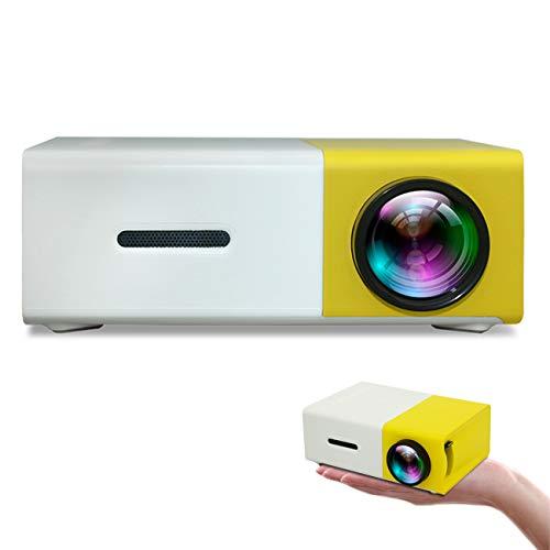 Proyector LED, Mini 1080P Full HD, 5000 lúmenes, proyector de teléfono móvil, para películas de entretenimiento, soporta HDMI, VGA, AV, USB, Micro SD, portátil, proyector de cine en casa