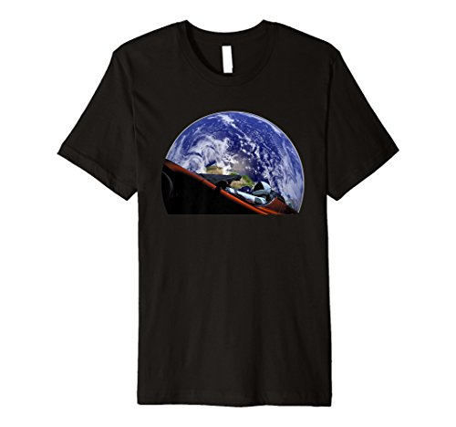 Starman Platz und Mars Exploration T-Shirt