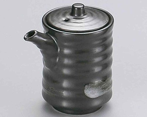 Lowest Prices! Tetsu Kessho 2.6inch Soy Sauce Dispenser Grey porcelain Made in Japan