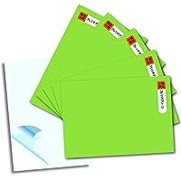 全86色 カッティング用シート はがきサイズ5枚組 【59.フレンチグリーン】転写シート1枚おまけ付き