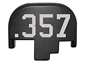 Rear Back Plate for Smith & Wesson S&W M&P 2.0 Full-Size Compact Black - Choose Your Design from NDZ Performance