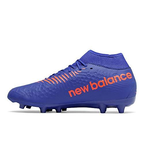 New Balance Men's Tekela V3 Magique Firm Ground Soccer Shoe, Cobalt/Dynomite, 11 M US