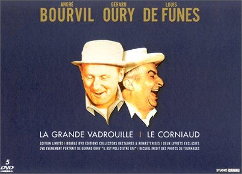 Bourvil-Oury-de Funès : Le corniaud + La Grande vadrouille [Édition Collector]
