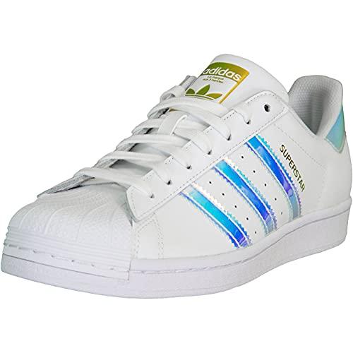 adidas Superstar - Zapatillas deportivas para mujer, color Blanco, talla 37 1/3 EU