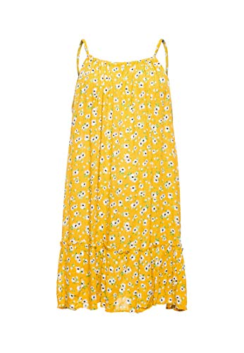 Superdry Damen Daisy Beach Dress Kleid, Gelb (Yellow Floral 53L), M (Herstellergröße:12)