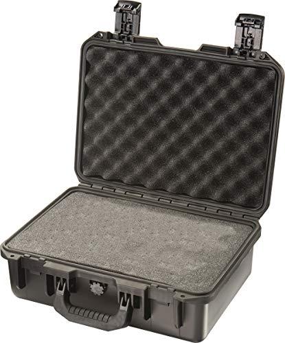 PELI Storm IM2200 Stoßfester Peli-Koffer für DSLR Kamera, Linsen und Accessories, 15L Volumen, Hergestellt in den USA, Mit Schaumstoffeinlage (Anpassbar), Schwarz