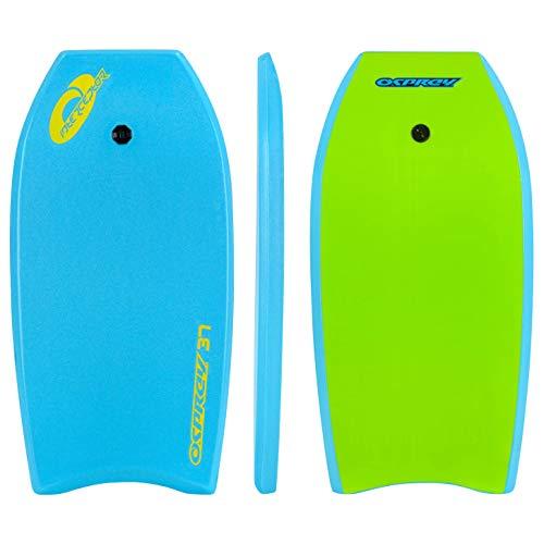 Osprey - Tabla de Bodyboard Unisex con Interceptor para jóvenes, Azul, 37 Pulgadas