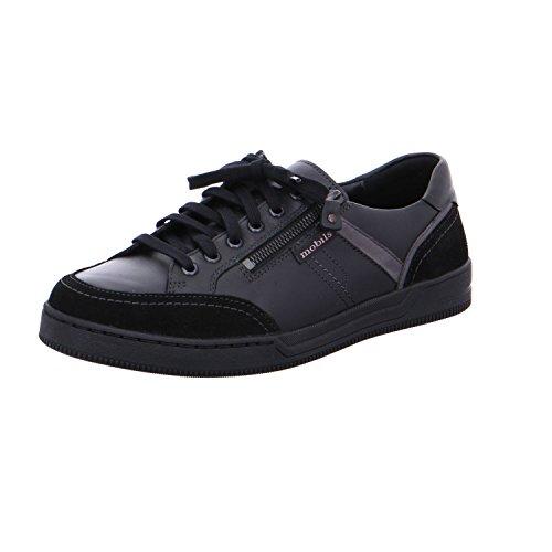 Mephisto Mobils by Arnaud Black Sneaker voor mannen met brede voeten