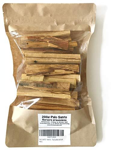PALO SANTO - feine Scheite, 200g, 30-40 Sticks, aus Peru, Top Qualität und Duft