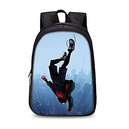 Marvel Spiderman - Mochila escolar con impresión 3D para primaria, moderna, práctica y moderna