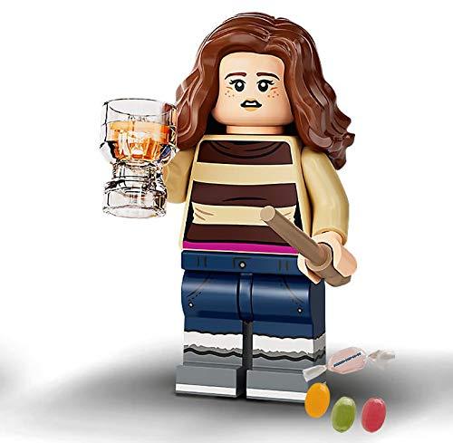 Lego® 71028 Harry Potter - Minifiguras 03 Hermione Granger + 1 x mezcla de frutas y pegatinas