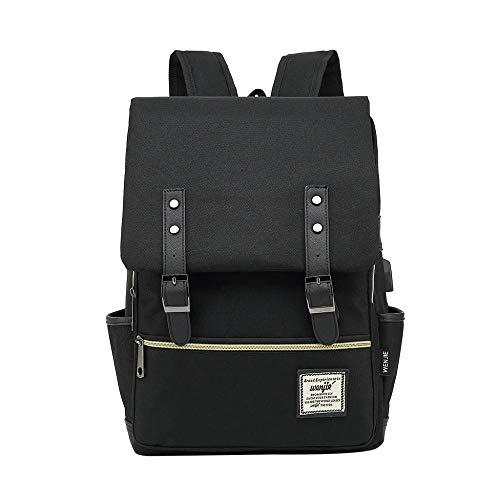 Backpack Bag Men Anti Theft Backpack Laptop Backpack Usb Charging Men Waterproof Travel Backpack College Student School Bags Black