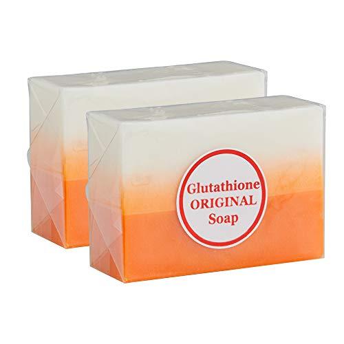 Glutathione & Kojic Acid Original Dual Soap - For Flawless Glowing Skin (2 Bars)