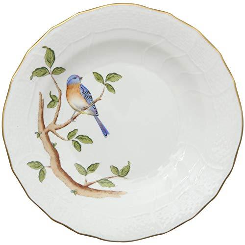 Herend Bluebird Songbird Porcelain Desert Plate