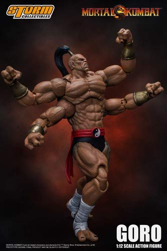 "Storm Collectibles 1/12 Goro ""Mortal Kombat"" Action Figure"