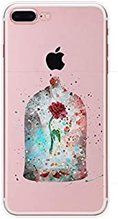 Apple IPhone 8 Plus Case Transparent Ultra Thin Slim Fit Soft Flexibl Shockproof Rubber Silicone Skin Premium Crystal Clea...