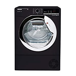 Hoover Freestanding Condenser Tumble Dryer with Aquavsion, WiFi Connected, 9Kg