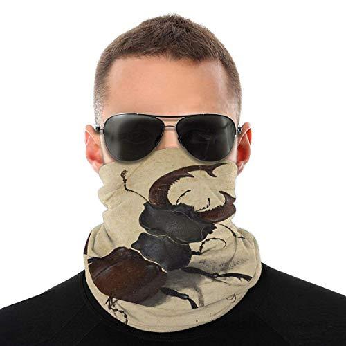 XCNGG Albrecht D & uuml; rer - Hirschkäfer 1505 Wurfkissen Große Gesichtsmaske Schal Schutz Hals Bandanas Varietät Kopftuch für Männer & Frauen