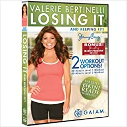 top 10 gaiam exercise videos Guyam Valerie Bertinelli: Lose and Stay Fit DVD 05-54675