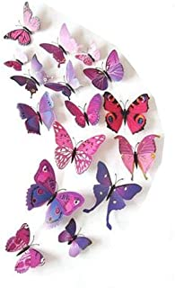 3D Simulated Butterfly Magnets Fridge Magnetic Stickers