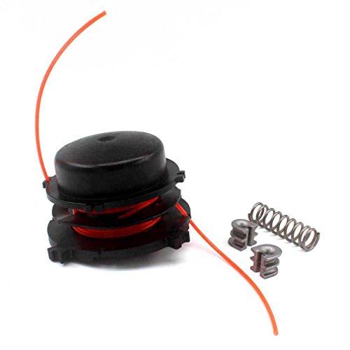 Aisen Bobine bobines Insert + nfade en nylon + ressort de pression + Douille pour débroussailleuse Stihl FS160 FS300 FS350 FS400 Autocut 30–2 40–2# 4003 3011 1601/0000 997 1601