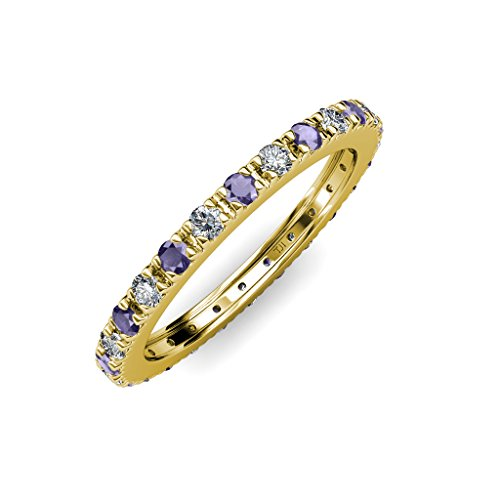 Diamond Iolite Jewelry Set - 9