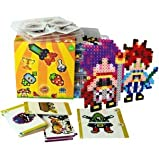 Simbrix Maker Kit 4000 Piece Brix Craft Puzzle Like Kit – Brain Training Pixel Bead Art - Reuseable, Self-Fusing, No Pegboard or Iron Needed 100% Recyclable Materials