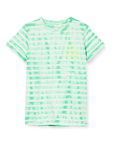 NAME IT Jungen NKMJENKE SS TOP Box T-Shirt, Spring Bud, 122-128