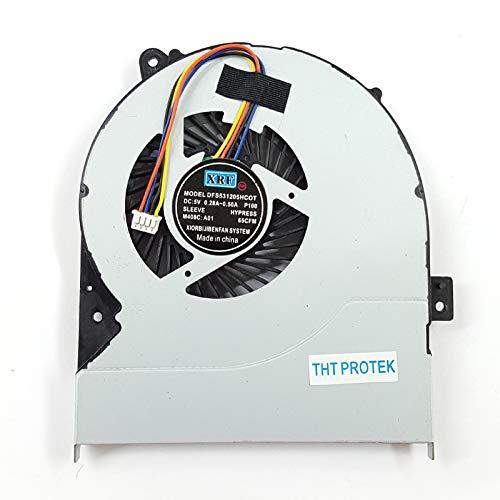 Kompatibel für ASUS X450 X450CA X550 X550C X550V X550J X550E Lüfter Kühler Fan Cooler Version 2
