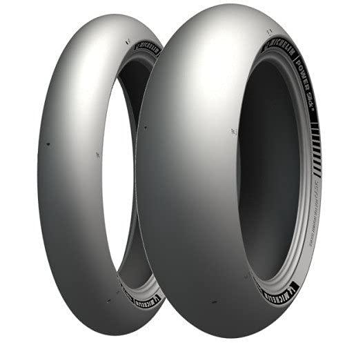 Michelin 74065 Neumático 190/55 ZR17 75W, Power Slick 2 para Moto, Todas Las Temporadas