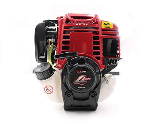 JKHK Motor de Gasolina de 4 Tiempos Motor de Gasolina de 4 Tiempos para cortadora de Cepillo Motor GX35 35,8 CC Mercado de Accesorios