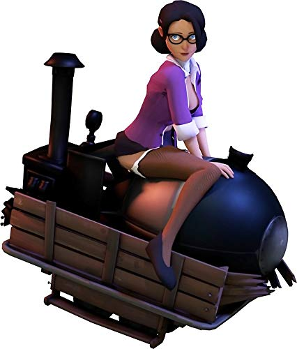HZ Graphics Team Fortress 2 - Ms. Pauling On The Payload Vinyl Decal Wall Laptop Bumper Sticker 5'