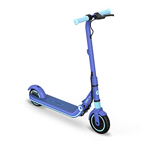 Segway Ninebot eKickScooter ZING E8 Kids Electric Kick Scooter for Boys and Girls, Lightweight and Foldable, New Cruise Mode, Blue