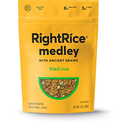 Right Rice Medley- Made from Vegetables – Gluten Free, Fried Rice, 7 Ounce
