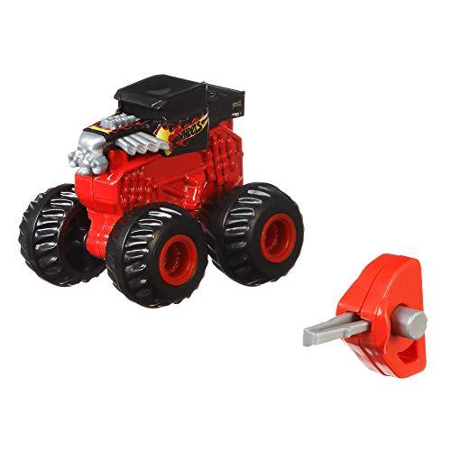 Hot Wheels Monster Truck Modelo Surtido Sorpresa, Coches de Juguete y Choque Sorpresa (Mattel GPB72)