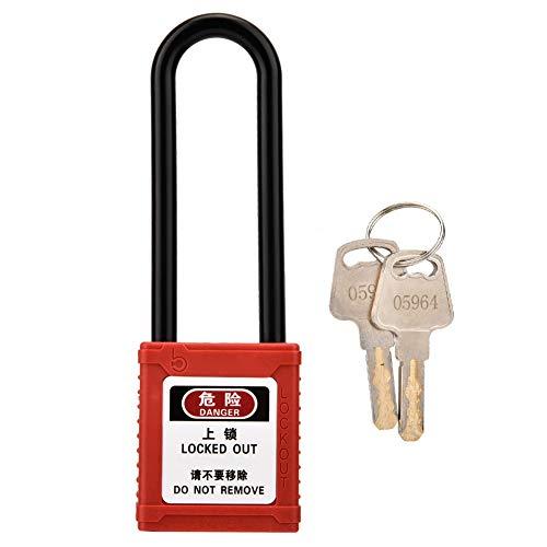 Diyeeni Equipaje Locks, Candado de Seguridad Industrial Bloq