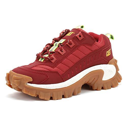 Cat Footwear Intruder, Scarpe da Ginnastica Unisex-Adulto, Rosso Bicicletta, 39 EU