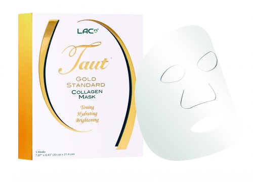 Taut Gold Standard Collagen Mask, pack of 5