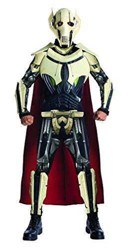 Star Wars Adult Deluxe General Grievous Costume, Multi, Standard