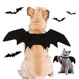 Disfraz De Halloween del Gatos Perros, Disfraz de Murciélago para Mascotas, Cosplay de Murciélagos de Moda para Gatos y Perros