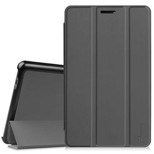 Fintie Hülle Hülle für Huawei Mediapad T3 8 - Ultra Dünn Superleicht SlimShell Ständer Cover Schutzhülle Tasche mit Zwei Einstellbarem Standfunktion für Huawei T3 20,3 cm (8,0 Zoll),Himmelgrau
