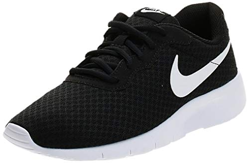 Nike Unisex Tanjun (Gs) Laufschuhe, Schwarz (Black White), 39