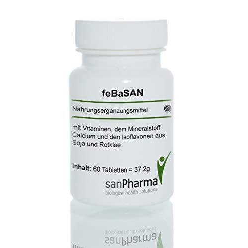 feBaSAN | Gesund in den Wechseljahren | Nahrungsergänzungsmittel | 60 Tabletten