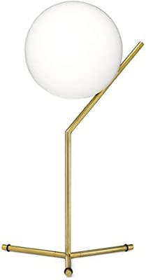 Bedroom headboard Glass Table lamp Modern Study Nordic Fashion Creative Decoration Living Room Ball Table lamp
