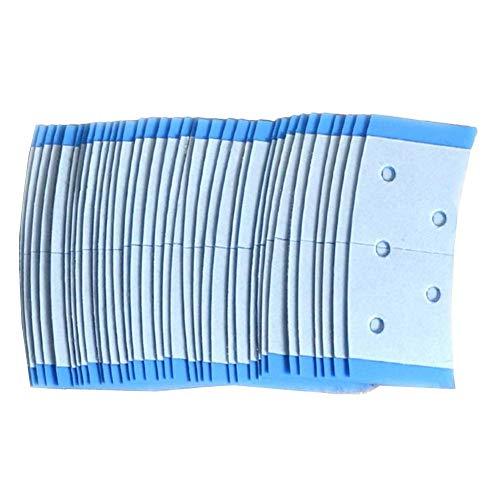 36 pièces Extension de cheveux forte bande double face cheveux face adhésif dissimulable respirant imperméable perruque super forte pour la liaison