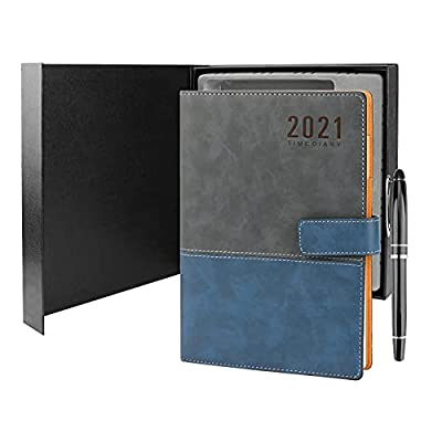 Amazon - 70% Off on 21 Planner with Black Ink Pen Hardcover Weekly Appointment Book