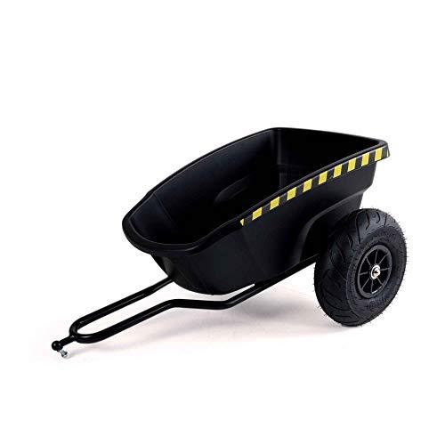 Ferbedo F030110 Anhänger, (Cart-Trailer für Gokart mit Pedalen, Kinder ab 3 Jahren, Tragekraft 10 Kg, 84 x 54 x 34 cm, Luftreifen)